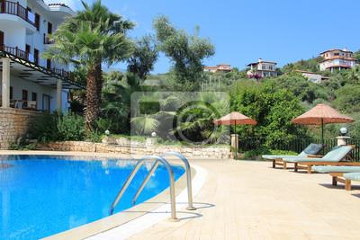 Hotel Pool in Kas, Antalya