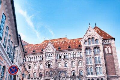 Hungarian parliament building along Danube river, Budapest - Hungary