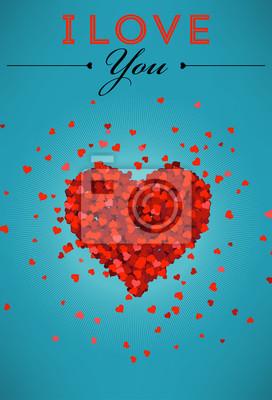 Ich liebe dich Poster
