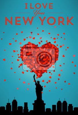 Ich liebe New York Poster