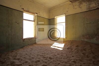 Innerhalb Kolmanskop Ghost Town