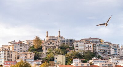 Istanbul cityscape and buildings, Turkey