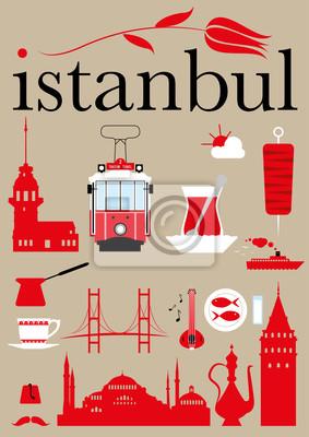 Istanbul Piktogramme