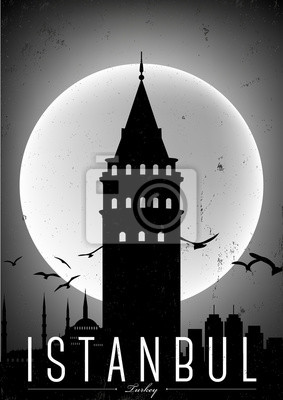 Istanbul Poster Design