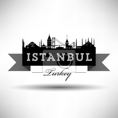 Istanbul Silhoutte Design-