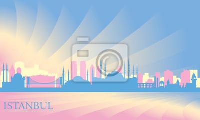Istanbul Skyline der Stadt