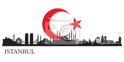 Istanbul Stadtsilhouette