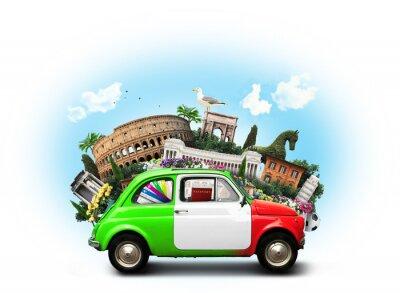 Retro Kühlschrank Italien : Italien sehenswürdigkeiten italien und retro italienischen auto