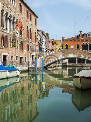Italien, Venedig. Typische städtisch