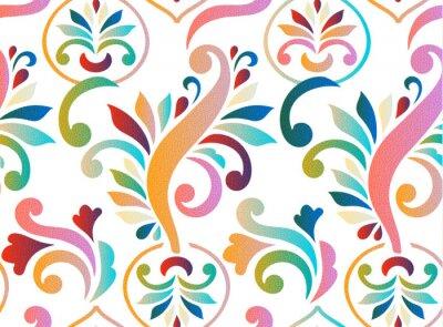 Poster Jahrgang abstrakte nahtlose Muster