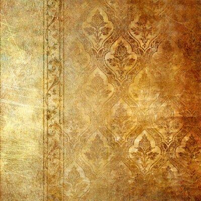 Jahrgang Hintergrund mit Mustern