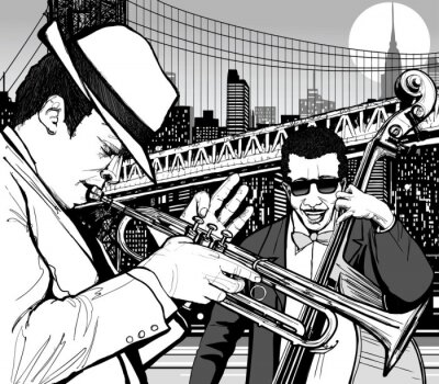 Poster Jazz in New York
