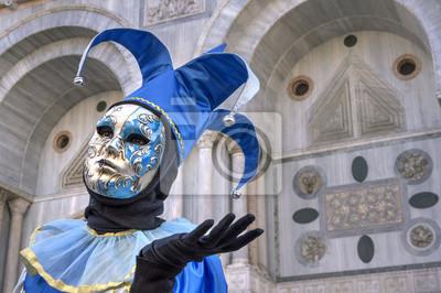 Jolly Maske in Venedig Karneval