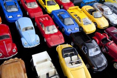 Poster Jouet, voiture, Miniatur, jeu, Plastiksprengstoff, retro