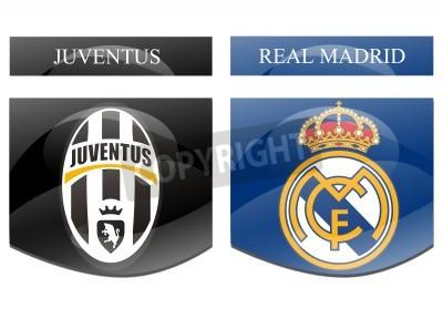 Poster juventus vs real madrid