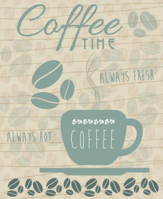 Poster Kaffee-Ikone