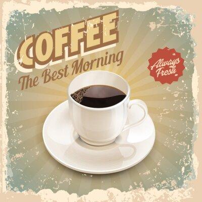 Poster Kaffee Retro