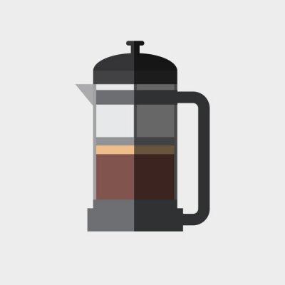 Poster Kaffee-Symbol-Design
