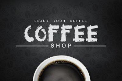 Poster Kaffeegrond