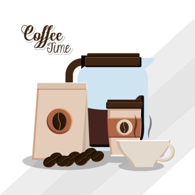 Poster Kaffeezeitentwurf