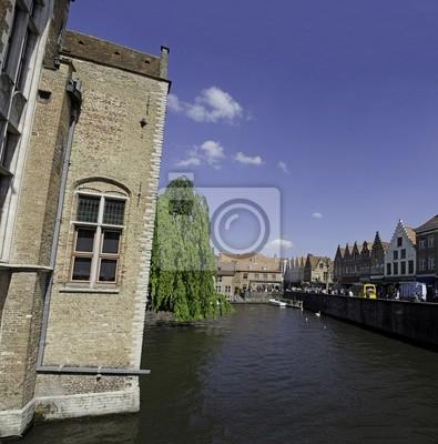 Kanäle von Brügge, Belgien