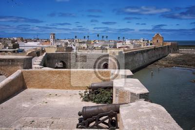 Kanone Mazagan, El Jadida - eine portugiesische Festung Port City