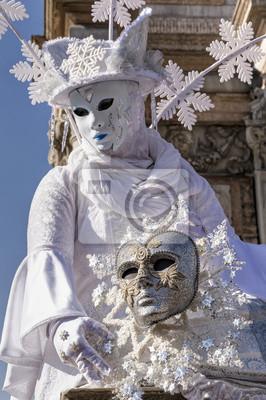 Karneval Maske in Venedig, Italien