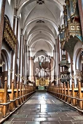 Kathedrale von Roskilde in Dänemark HDR