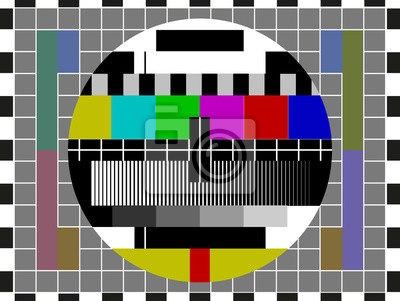 Kein Signal TV-Bildschirm