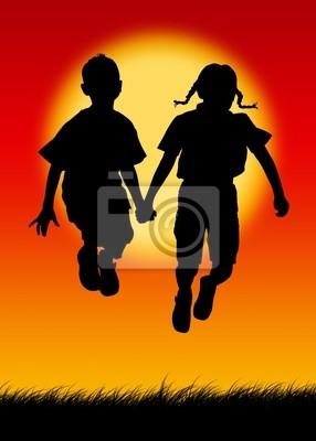 Kinder Silhouetten 2