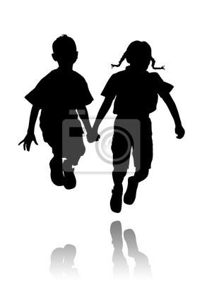 Kinder Silhouetten 3