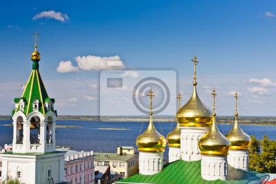 Kirche in Nizhny Novgorod, Russland