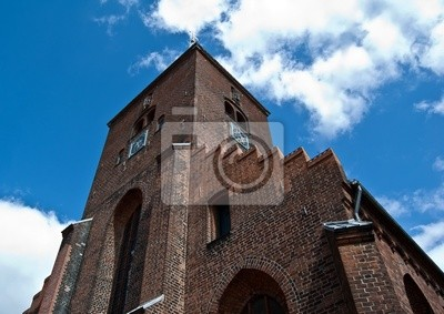 Kirche Sankt Mortens Randers in Dänemark
