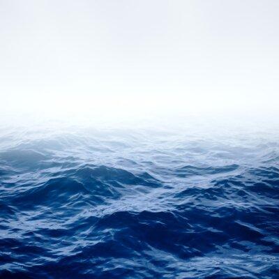 Poster Klaren blauen Meer und Himmel