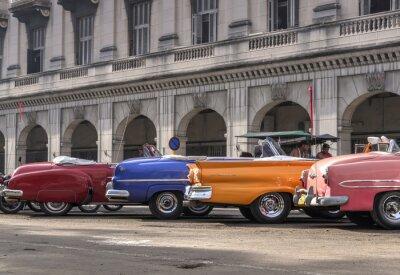 Klassische amerikanische Autos in Havanna, Kuba