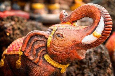 Poster Kleine Elefantenstatue