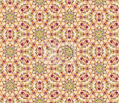 kontinuierliche seamless floral Mosaik-Muster