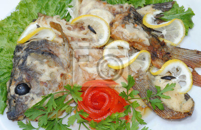 Köstliche Fischgericht