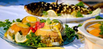 Köstliche Sülze Gericht