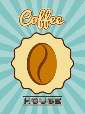 Poster Köstlicher Kaffeeentwurf