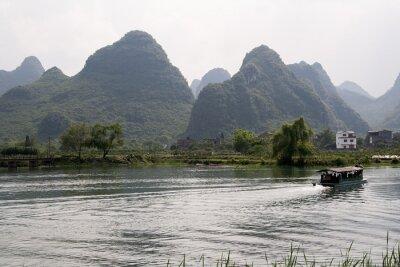 Poster Krajobraz okolischen Yangshuo