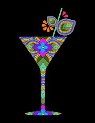 Poster Kreativ-Cocktail