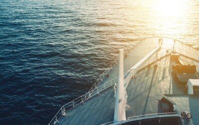 Poster Kreuzfahrtschiff Bogen