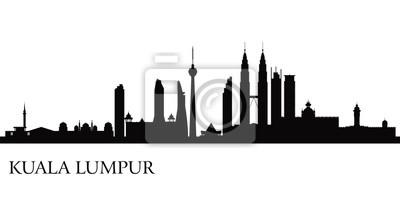 Kuala Lumpur Skyline der Stadt