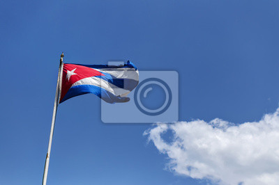 Kubanischen Nationalflagge