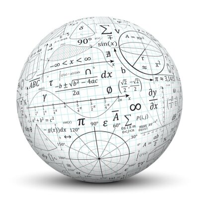 Kugel, mathematik, icon, symbol, math, kugel, 3d, formeln, uni ...