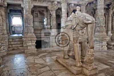 Kumbalgarh Tempel, Rajasthan Indien