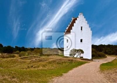 L'église ensablée au Danemark - Den Tilsandede Kirke