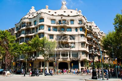 La Pedrera von dem katalanischen Architekten Antoni Gaudi. Barcelona.