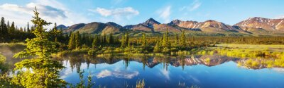 Poster Lake on Alaska